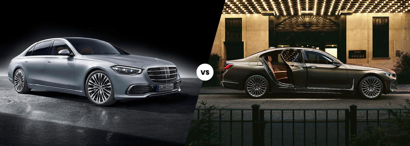 2021 Mercedes-Benz S-Class vs. 2021 BMW 7 series