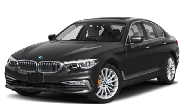 Black 2020 BMW 5 Series