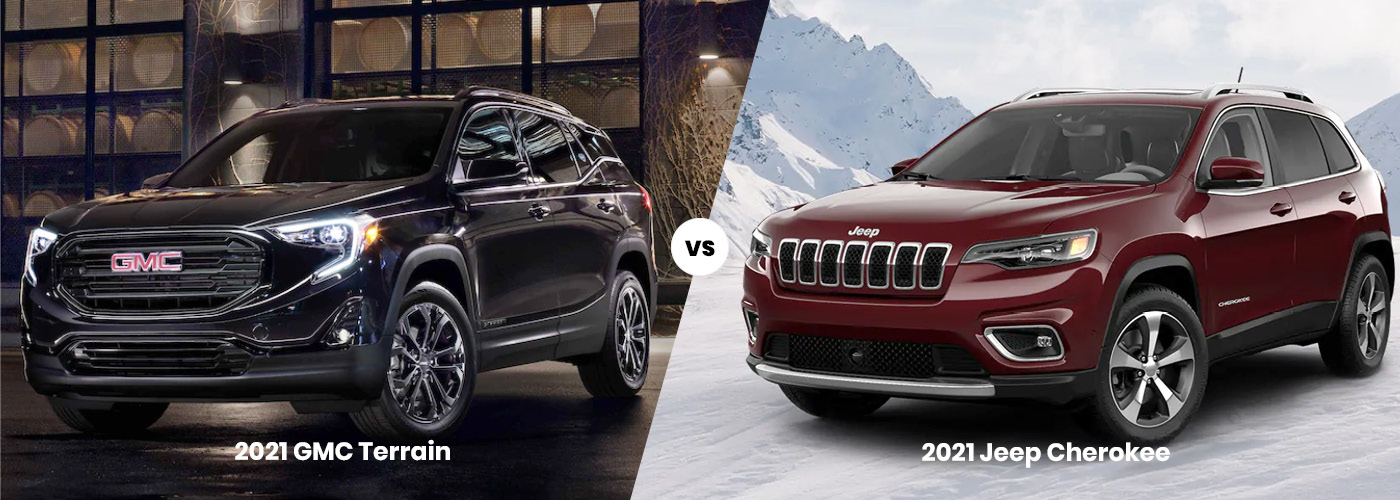2021 GMC Terrain vs 2021 Jeep Cherokee