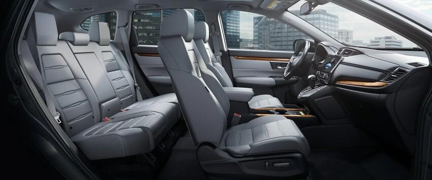 Interior view of the 2021 Honda CR-V
