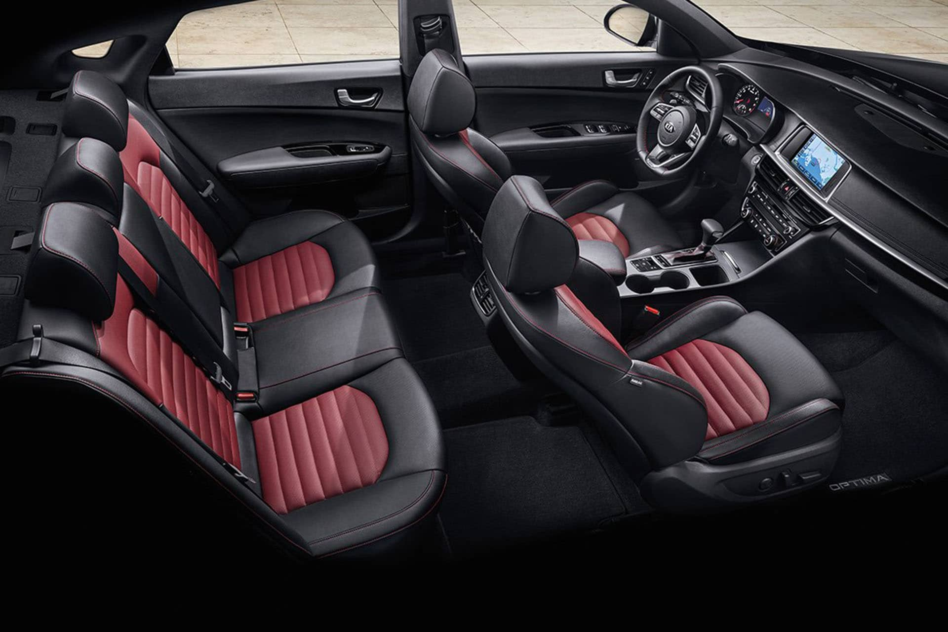 Kia interior seats
