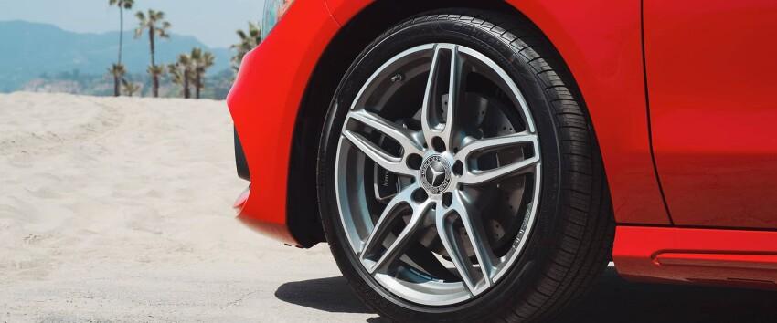 2019 Mercedes-Benz CLA Tire