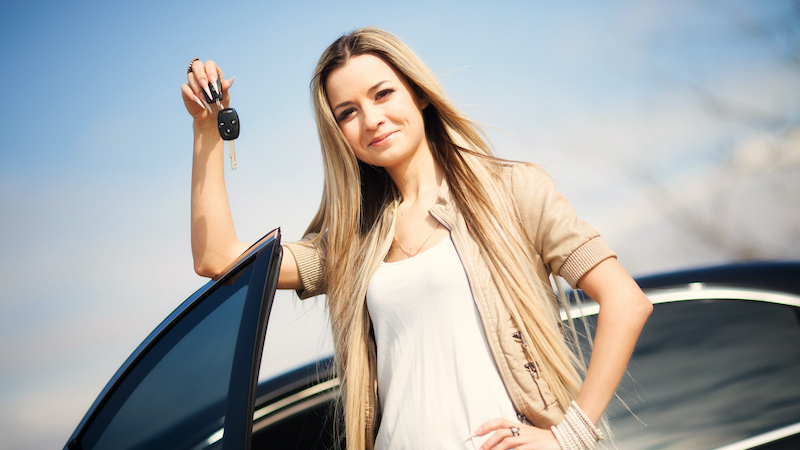 leasing a used car, purchase car, keys to new car