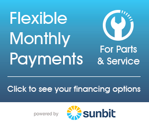 Sunbit Service & Parts Financing - Flexible Monthly Payments
