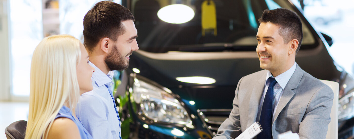 a couple asking a salesman about what does MSRP mean