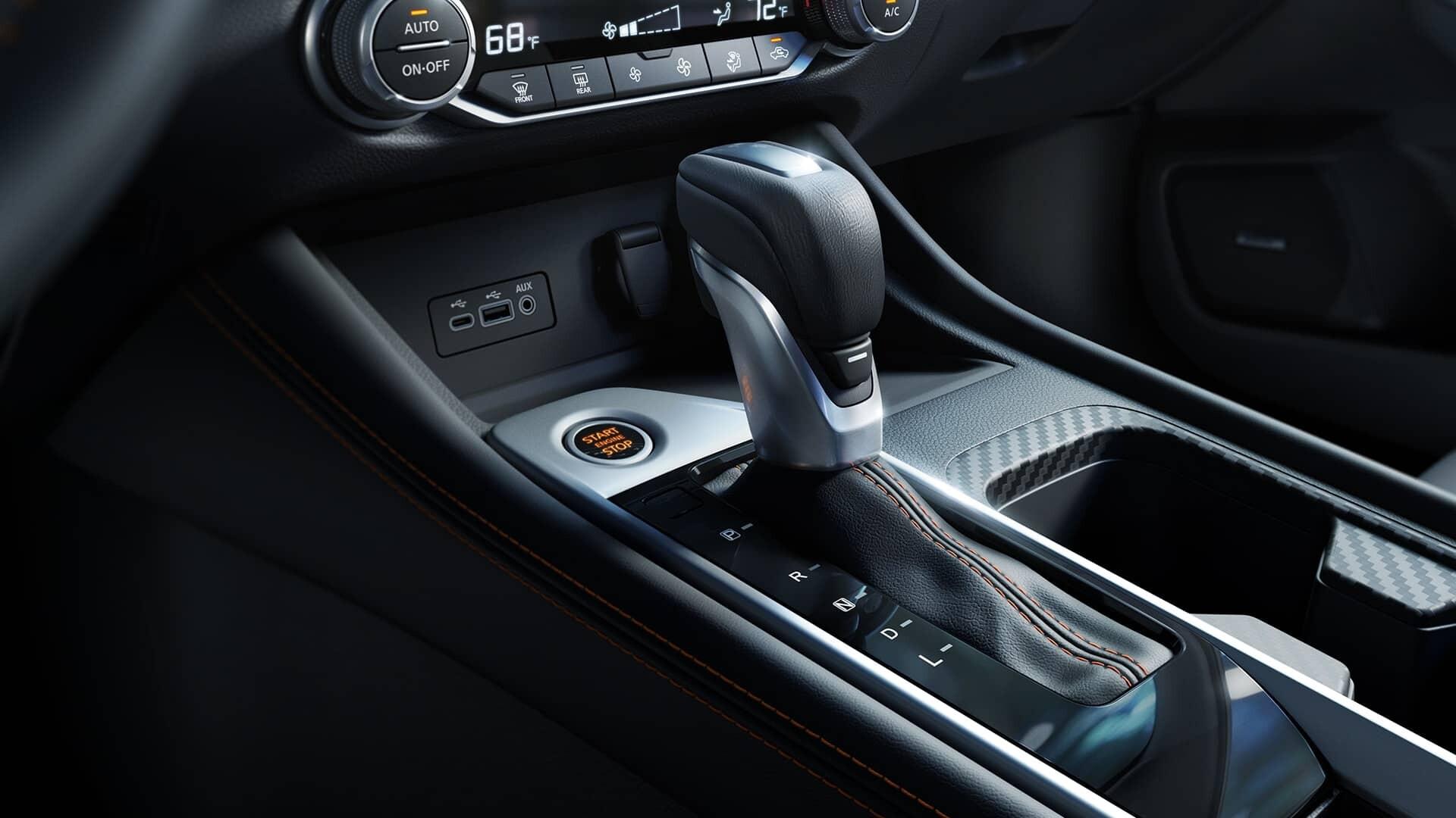 2020 Nissan Sentra Shifter