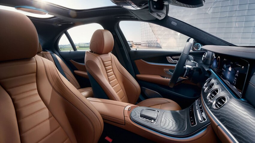 2021 Mercedes-Benz E-Class Interior