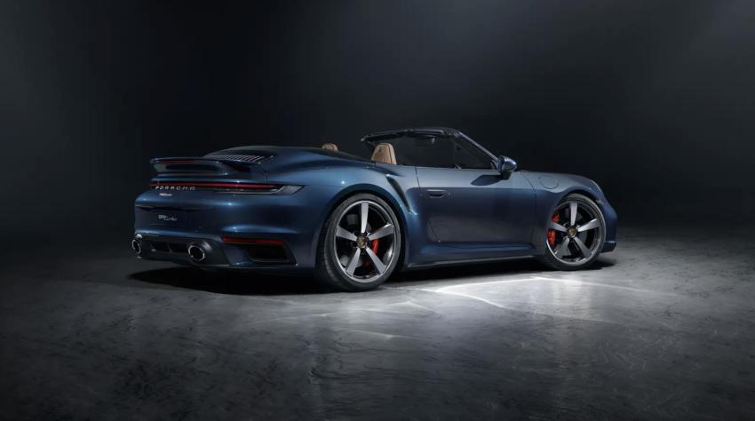 2021 Porsche 911 Turbo Cabriolet