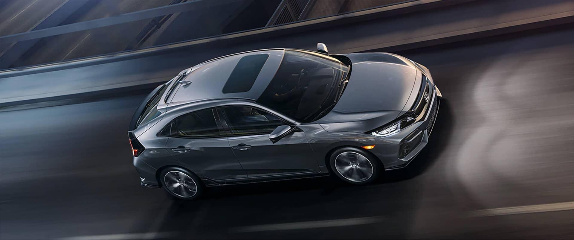 2020 Honda Civic Hatchback Sport Touring Driving