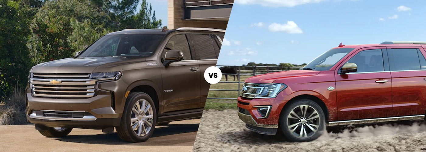 2021 Chevrolet Tahoe vs. 2021 Ford Expedition