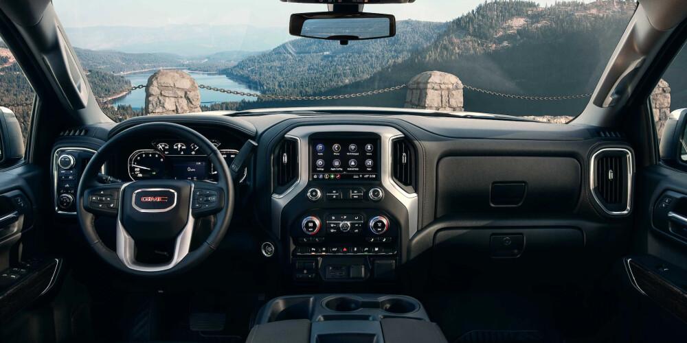 GMC Sierra, 2021 GMC Sierra AT4 interior