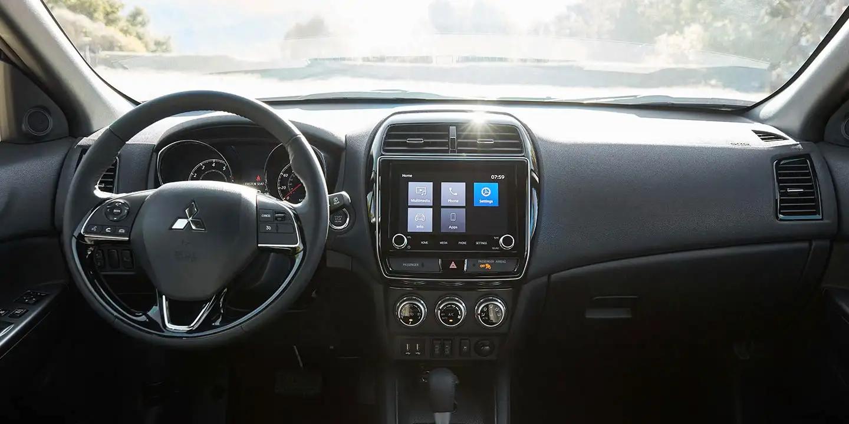 2020 Mitsubishi front dash interior