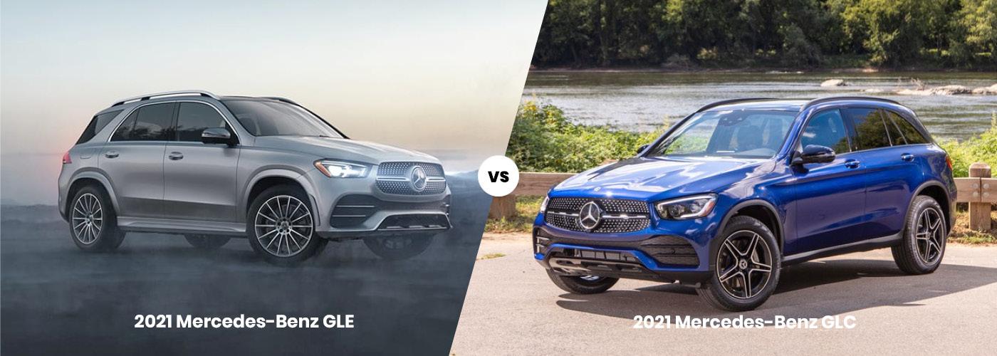 2021 Mercedes-Benz GLC vs. 2021 Mercedes-Benz GLE