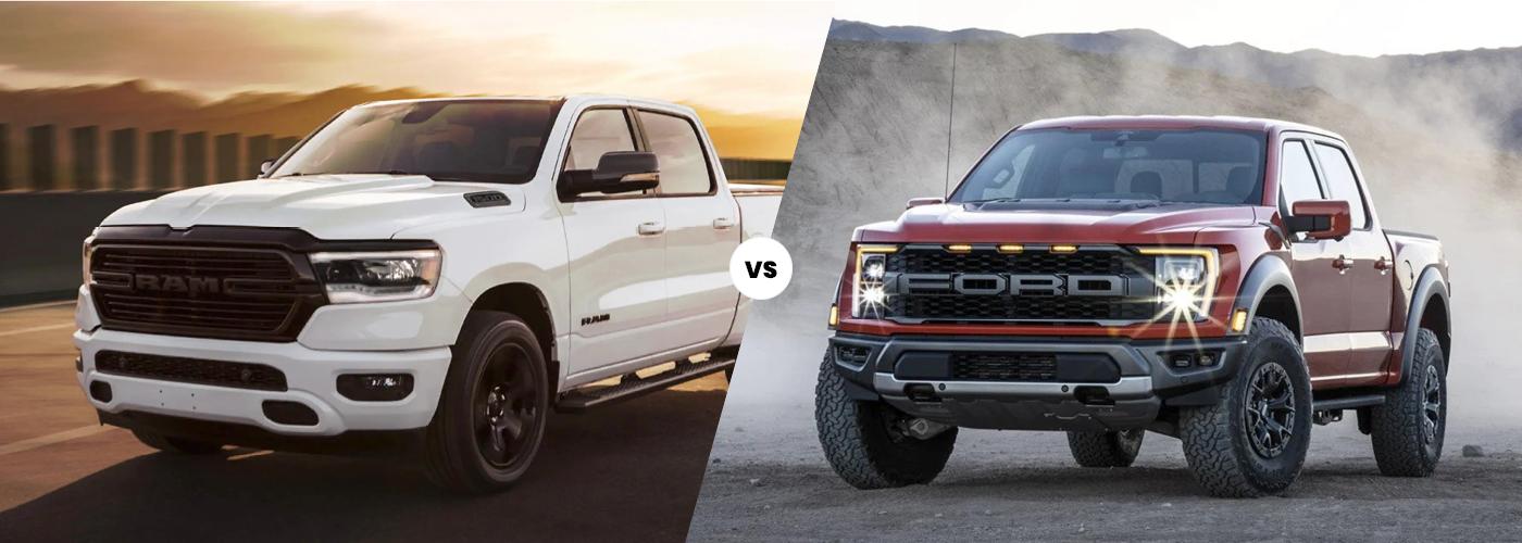 2021 RAM Rebel vs. 2020 Ford Raptor