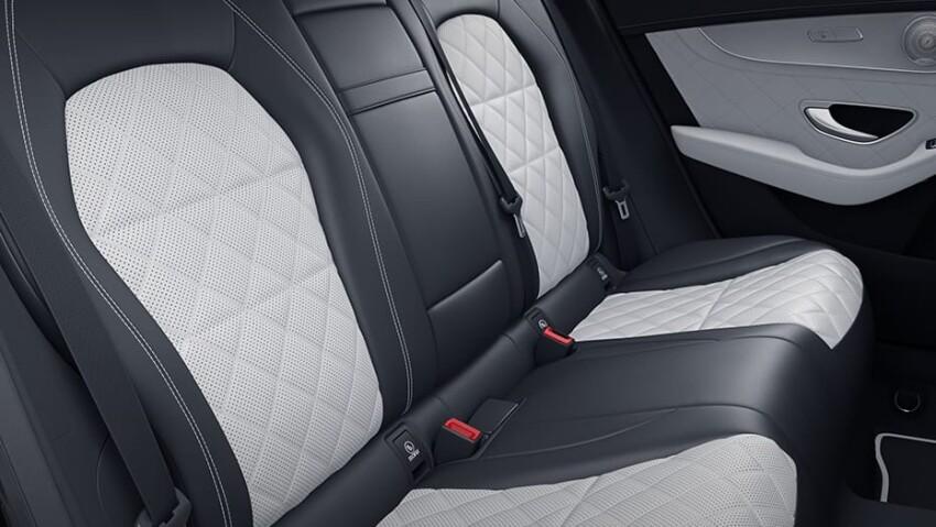 2021 Mercedes-Benz GLC Interior Back Seat