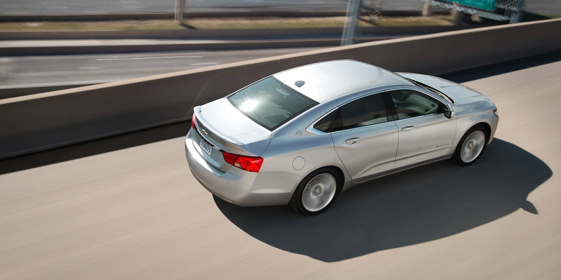 2020 Chevrolet Impala Driving