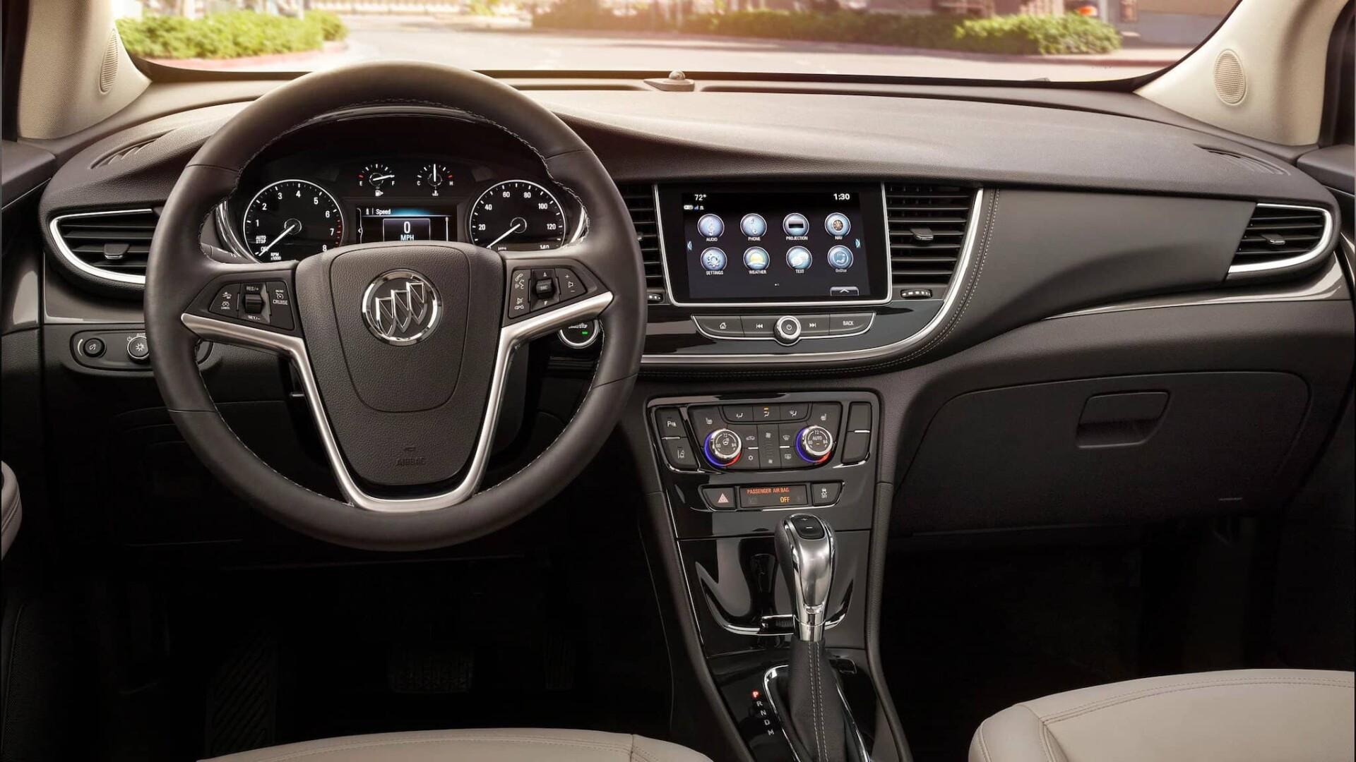 2020 Buick Enclave Dash