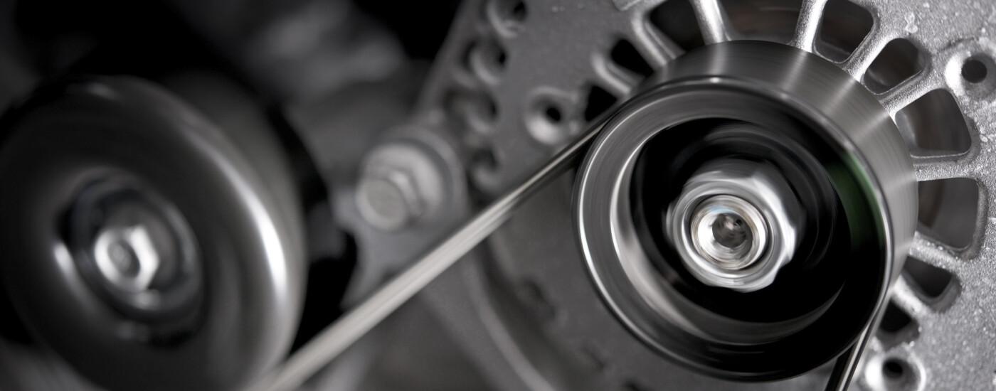 a technician explaining what an alternator does