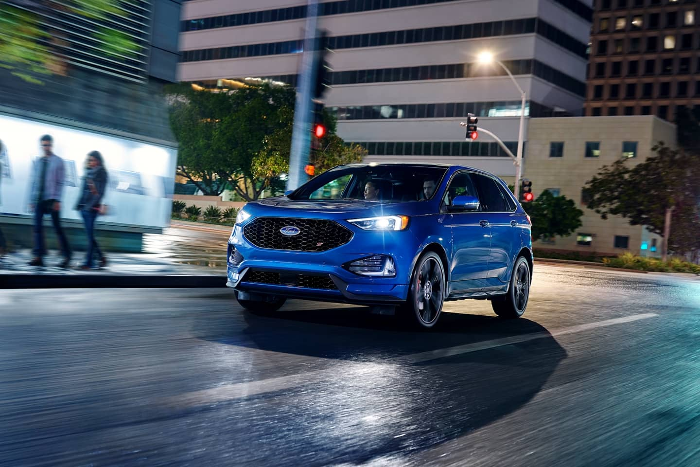 Ford Edge Driving at Night
