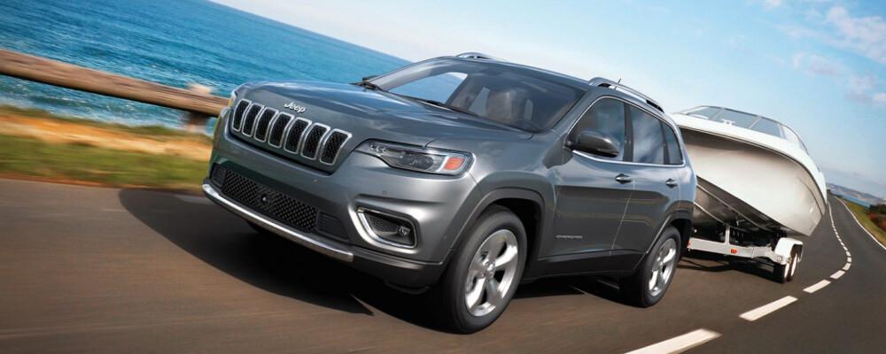 2021 Jeep Cherokee Towing