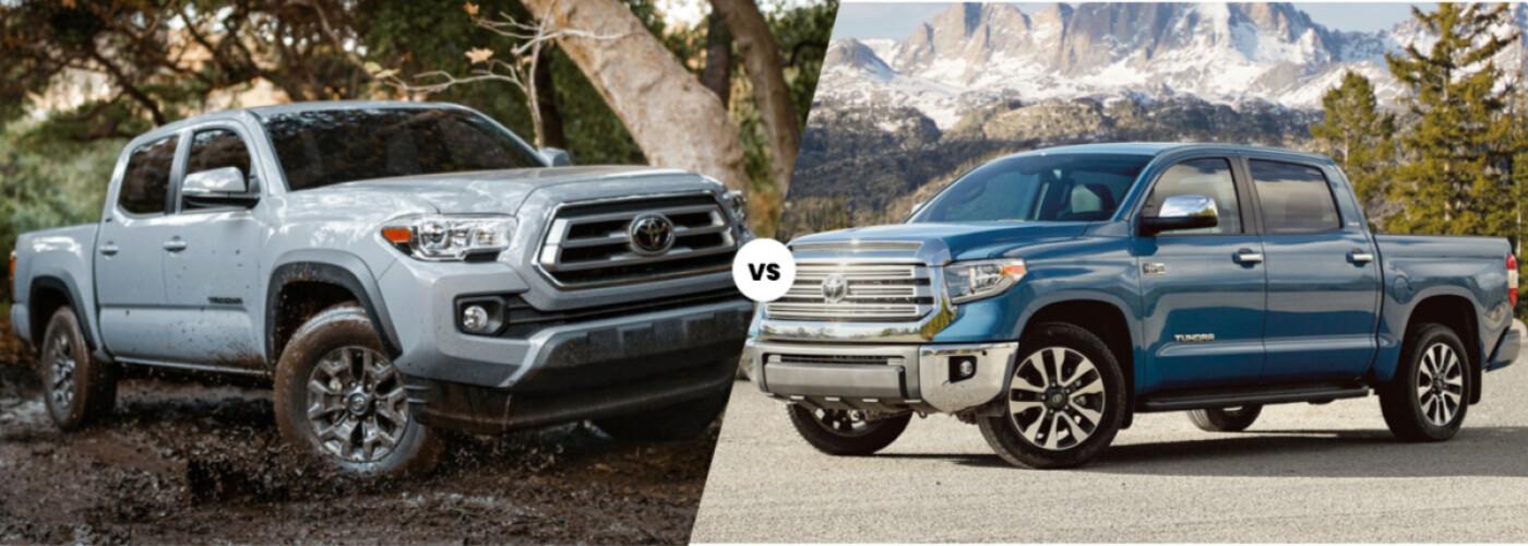 2021 Toyota Tacoma vs. 2021 Toyota Tundra