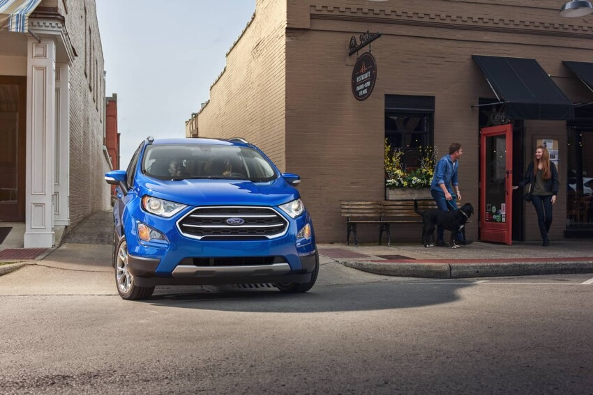 2020 Ford Ecosport Grill