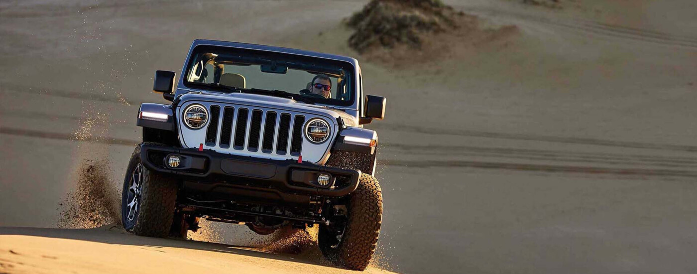 a jeep wrangler equipped with a lot of accessories