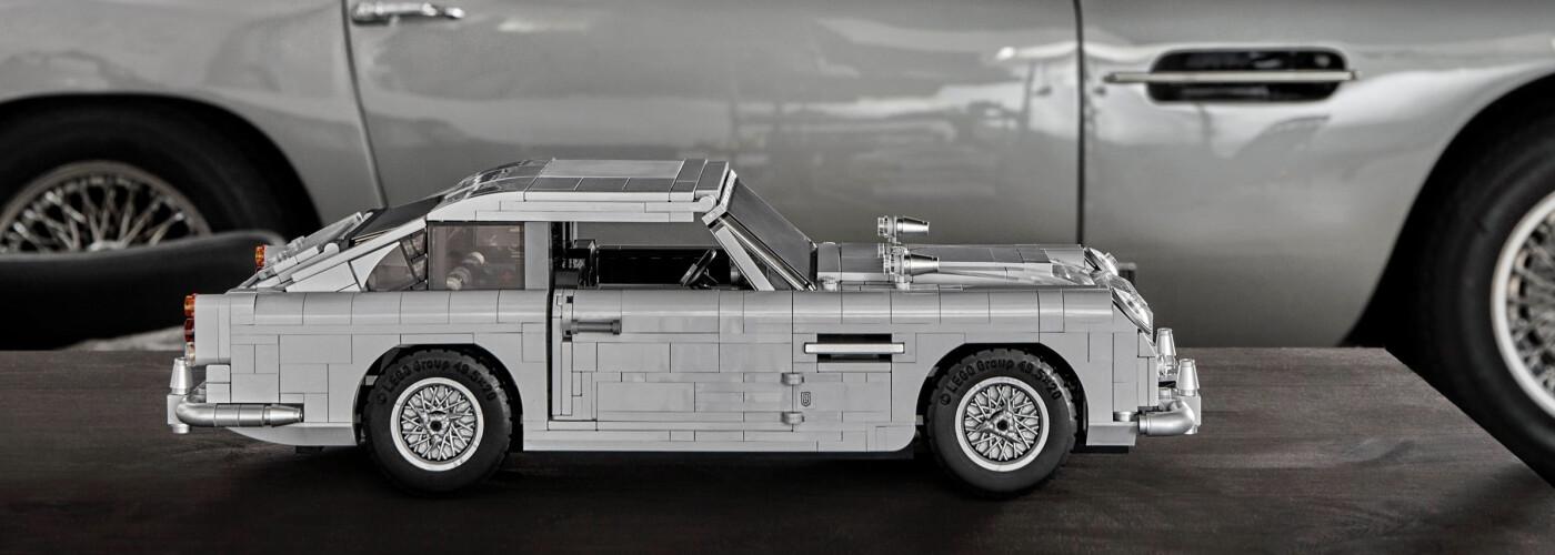 Image courtesy of lego.com of their Aston Martin Lego Kit