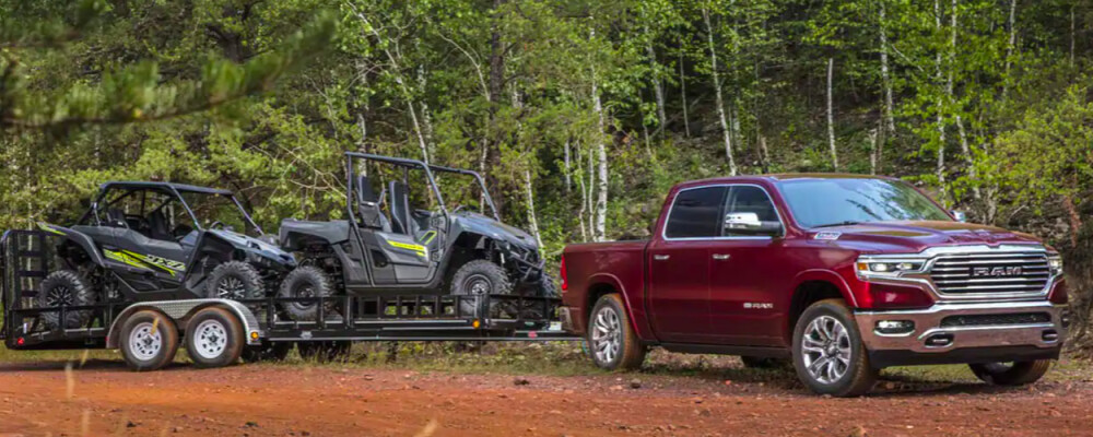 2021 RAM 1500 Towing Capacity