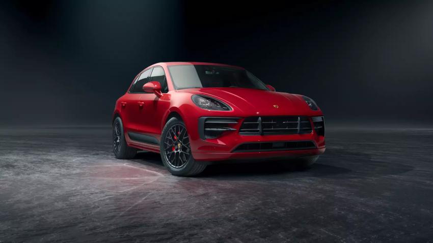2021 Porsche Macan GTS Front Exterior