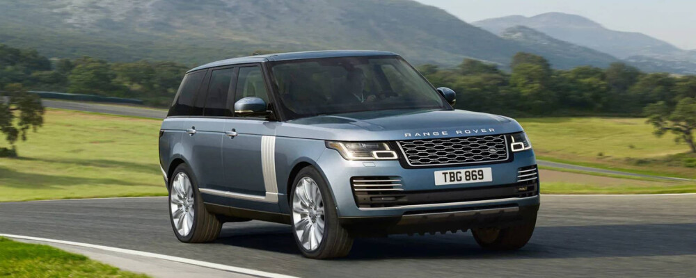 2020 Range Rover on Open Road