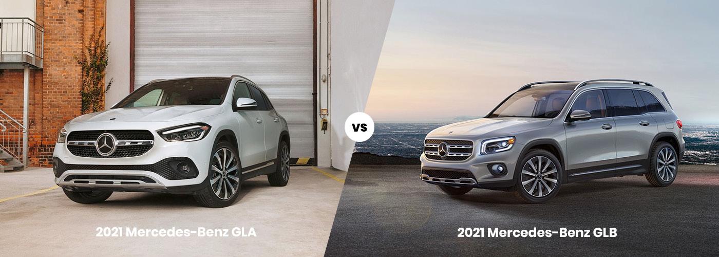 2021 Mercedes-Benz GLA vs 2021 Mercedes-Benz GLB