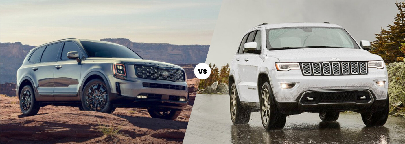 2021 Kia Telluride vs. 2021 Jeep Grand Cherokee